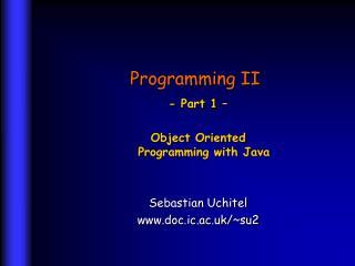 Programming II