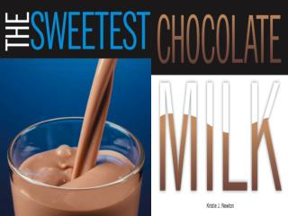 The Mathematical Preparation of Chocolate Milk