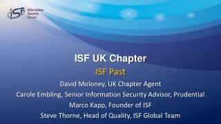 ISF UK Chapter