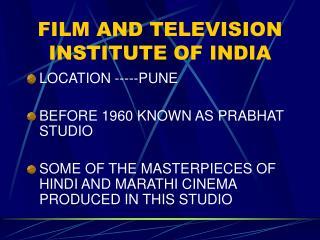 Film  Television Institute of India