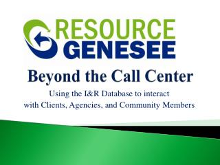 Beyond the Call Center