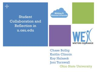 Chase  Bollig Kaitlin  Clinnin Kay  Halasek Joni  Tornwall Ohio  State University