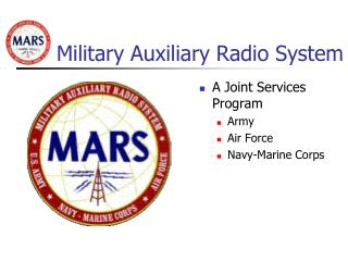 Military Auxiliary Radio System
