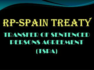 RP-SPAIN TREATY