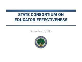 State Consortium on  educator effectiveness