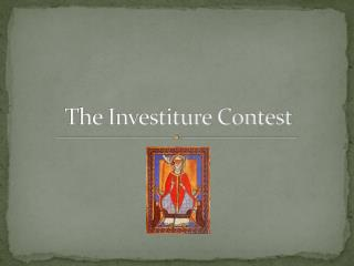 The Investiture Contest