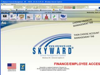 CHOOSE FINANCIAL MANAGEMENT TAB