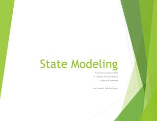 State Modeling
