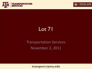 Lot 71