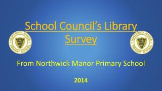 School Council's Library Survey