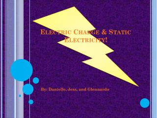 Electric Charge & Static Electricity!