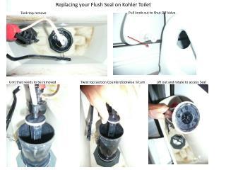 Replacing your Flush Seal on Kohler Toilet