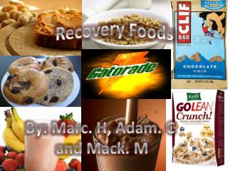 Recovery Foods