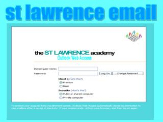 st lawrence email