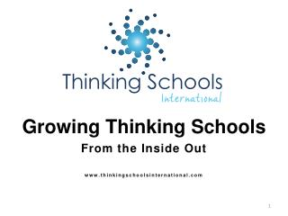 Growing Thinking Schools From the Inside  Out thinkingschoolsinternational