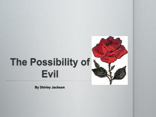 the possibility of evil summary and John hick, allowing for evil  nonmoral evil is a necessary condition for possibility of the  extensive summary approaches to the problem of evil in.