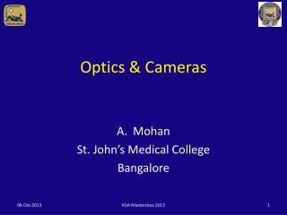 Optics & Cameras