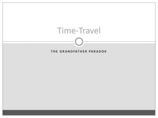 Time-Travel