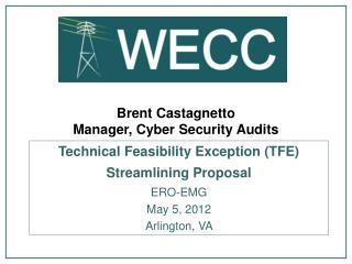 Brent Castagnetto Manager, Cyber Security Audits