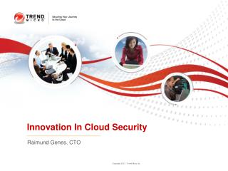 Innovation In Cloud Security