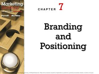 Branding and Positioning