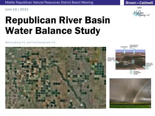 Republican River Basin Water Balance Study