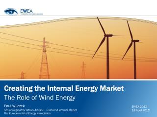 Creating the Internal Energy Market