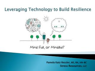Leveraging Technology to Build Resilience