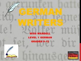 German Writers