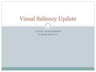 Visual Saliency Update