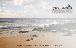 DISCOVER HAWAIIAN PARADISE ON KAUAI