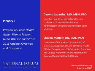 Darwin  Labarthe, MD, MPH, PhD