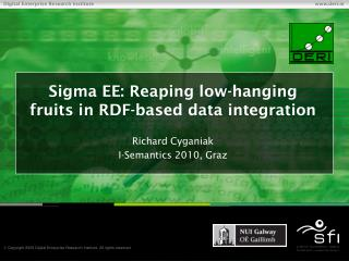 Sigma EE: Reaping low-hanging fruits in RDF-based data integration