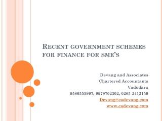 Approach to SMEs Appraisal   Disbursement procedures