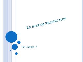 Le system respiration