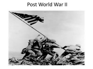Post World War II