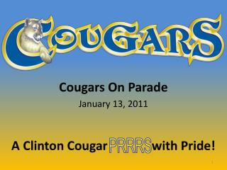 Cougars On Parade January  13,  2011