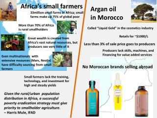 Africa's small farmers