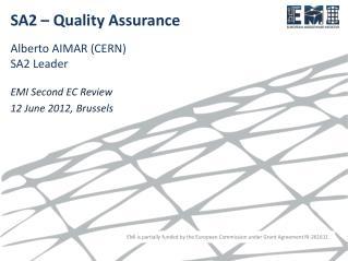 SA2 � Quality Assurance