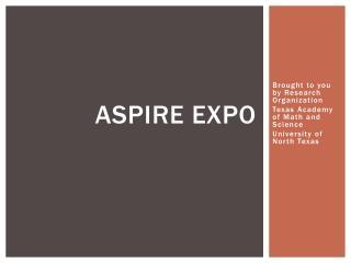 Aspire Expo