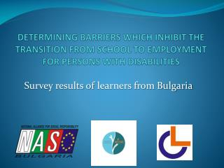 Survey results of  learners from Bulgaria