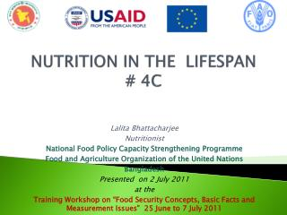 NUTRITION IN THE  LIFESPAN # 4C