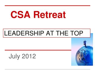 CSA Retreat