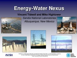 Energy-Water Nexus