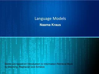 Language Models