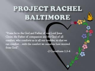 Project Rachel Baltimore