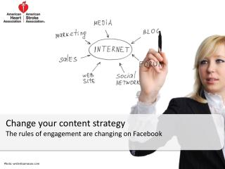 Change your content strategy The rules of engagement are changing on Facebook