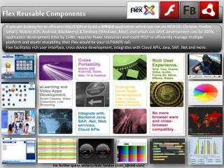 Flex Reusable Components