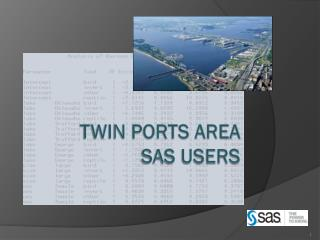 Twin Ports Area SAS Users