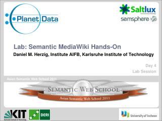 Lab:  Semantic MediaWiki Hands-On